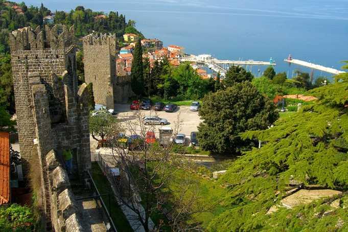 Piran Şehir Surları