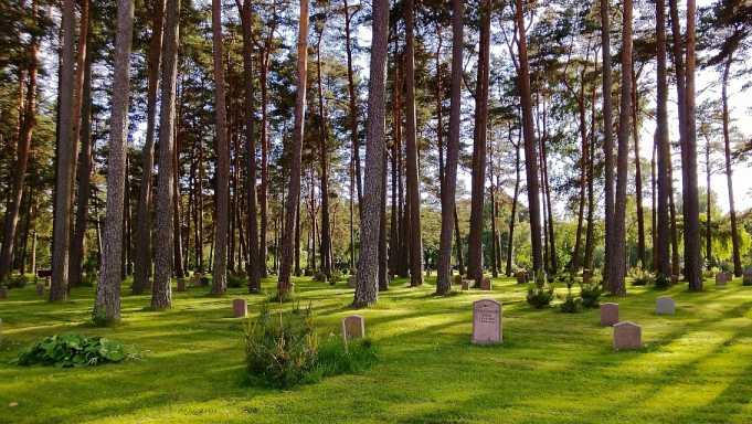 Skogskyrkogården Mezarlığı(Orman Mezarlığı)