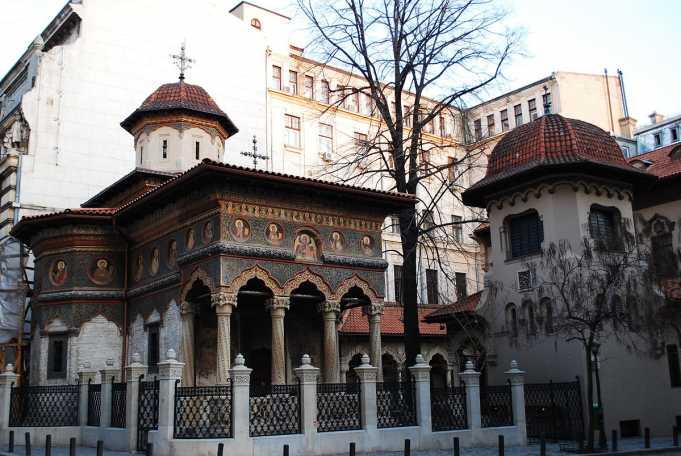 Stavropoleos Manastırı ve Kilisesi