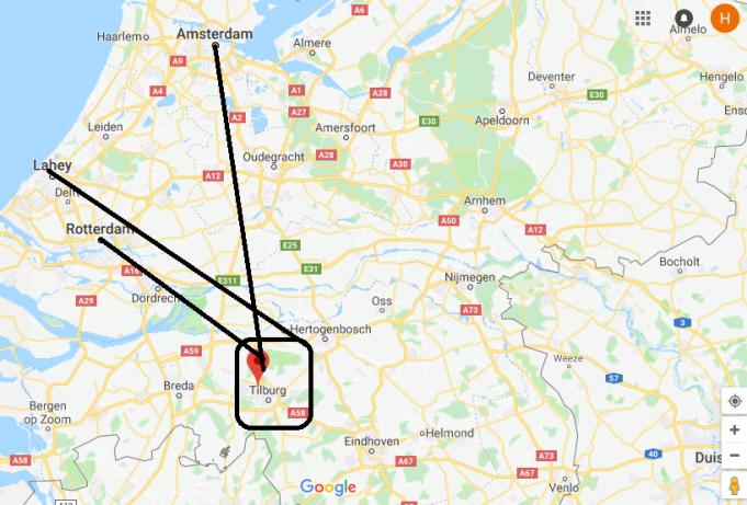 Tilburg Nerede, Hangi Ülkede?