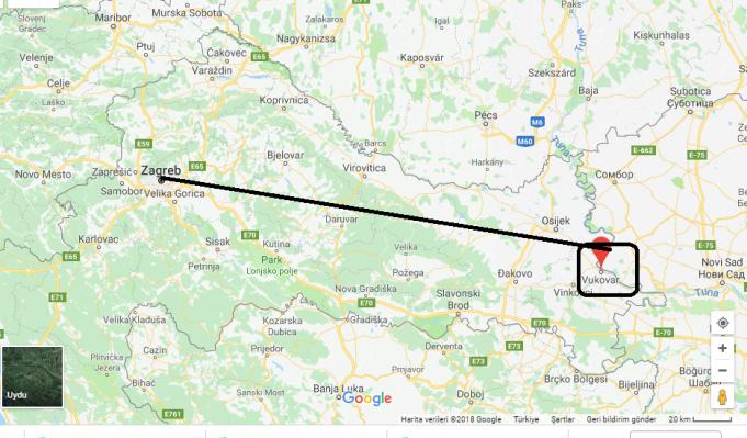 Vukovar Nerede, Hangi Ülkede?