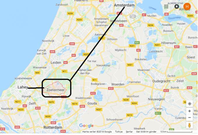 Zoetermeer Nerede, Hangi Ülkede?