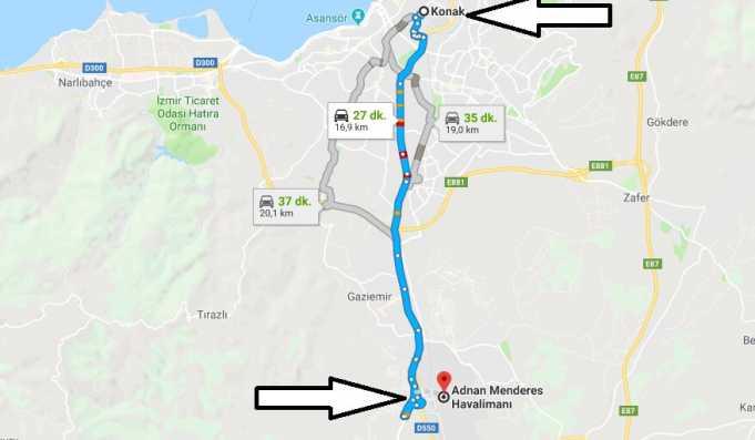 Adnan Menderes Havalimanı Nerede, Nasıl Gidilir