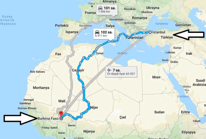 Burkina Faso Gezilecek Yerler, Gezi Rehberi, Gezi Planı ve Gece Hayatı Rehberi