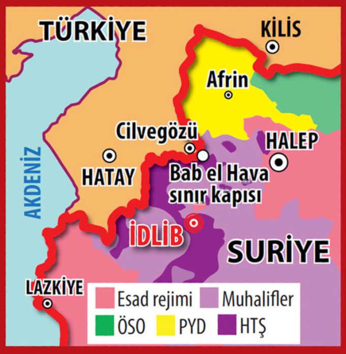İdlib Nerededir