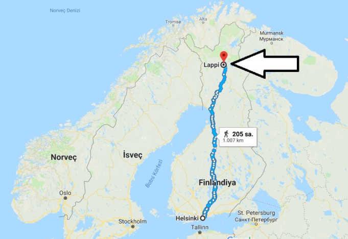 Laponya Nerede, Nasıl Gidilir?