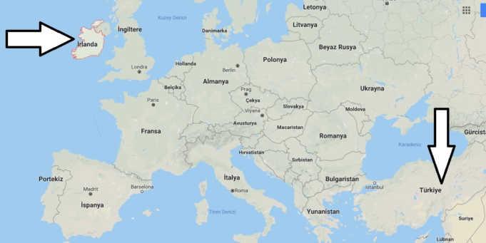 İrlanda Gezilecek Yerler, Gezi Rehberi, Gezi Planı ve Gece Hayatı Rehberi