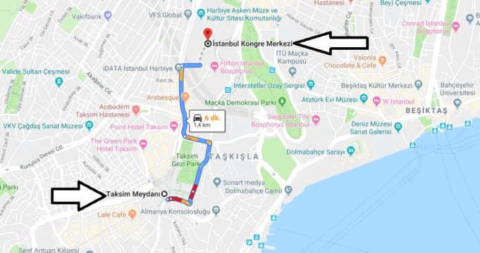 İstanbul Kongre Merkezi Nerede Nasıl Gidilir