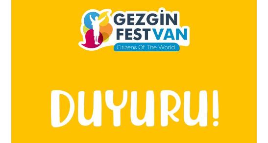 Gezgin Fest Van DUYURU