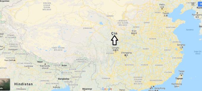 Çin Hakkında Bilgi, Hangi Kıtada