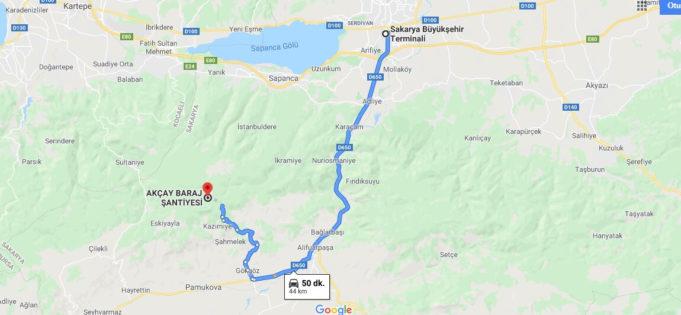Akçay Barajı Nerede, Nasıl Gidilir?