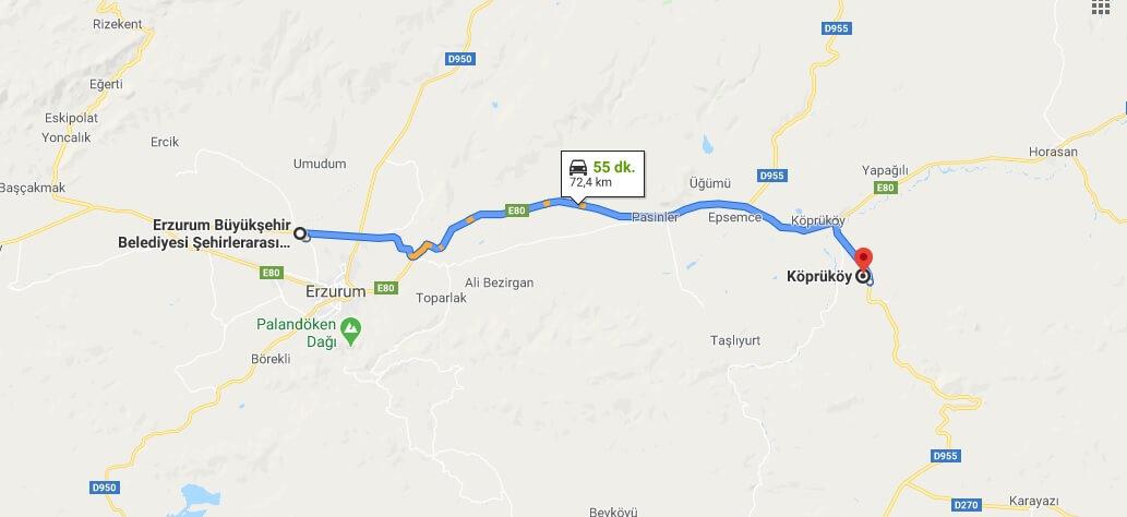 Köprüköy Nerede, Hangi Şehirde ve Nerenin İlçesi