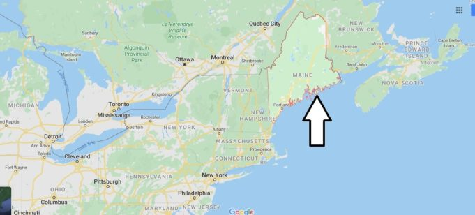 Maine Nerede, Hangi Ülkede?