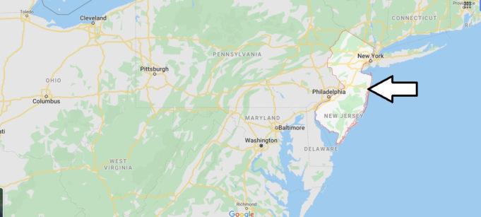 New Jersey Nerede, Hangi Ülkede?