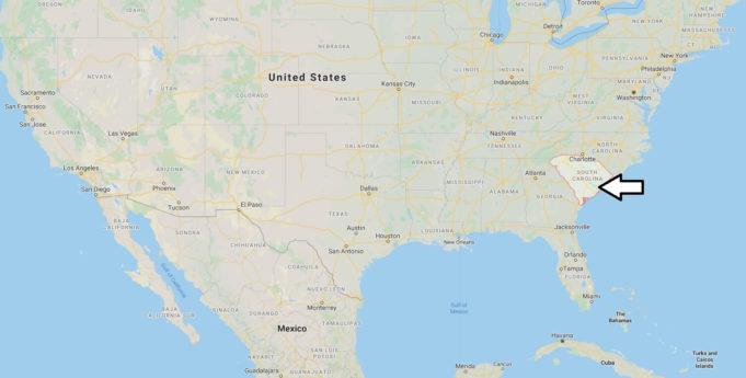 South Carolina Nerede, Hangi Ülkede?