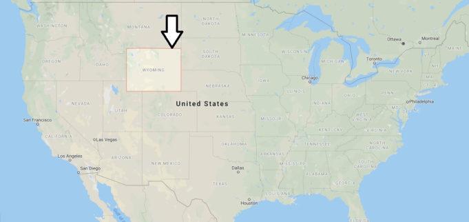South Dakota Nerede, Hangi Eyalette, Ülkede?