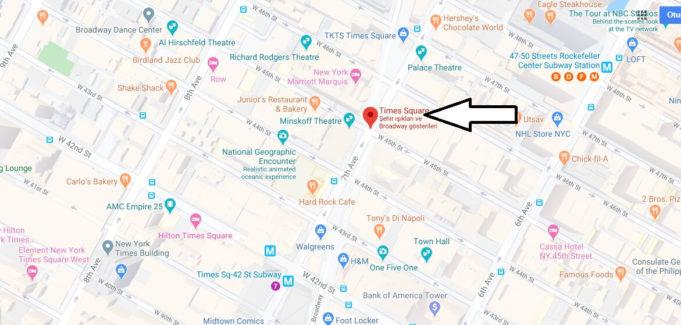 Times Meydanı Nerede, Hangi Ülkede?