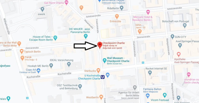 Checkpoint Charlie Nerede, Nasıl Gidilir?