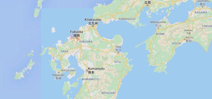 Fukuoka Nerede, Nasıl Gidilir?