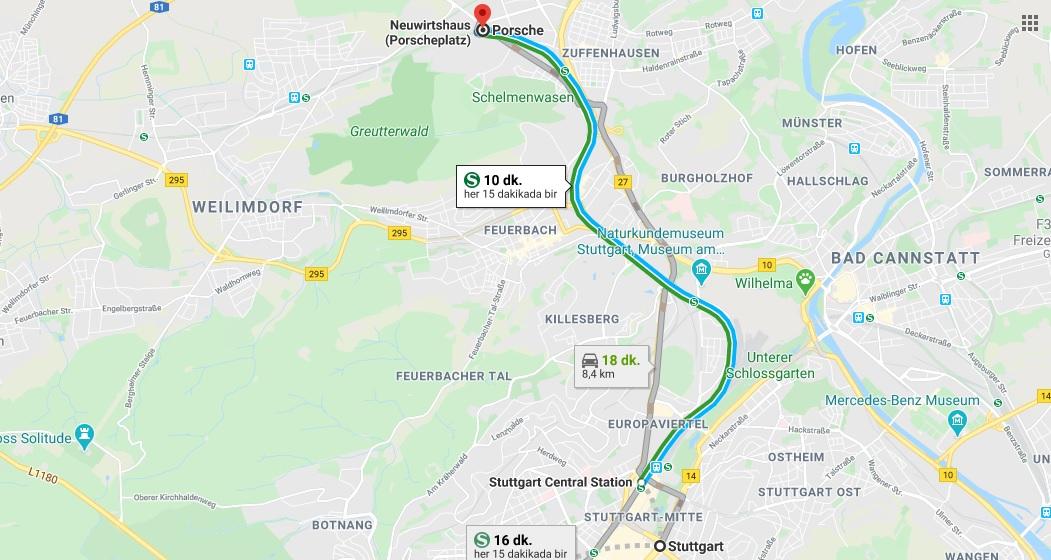 Stuttgart Porsche Müzesi Nerede, Nasıl Gidilir?