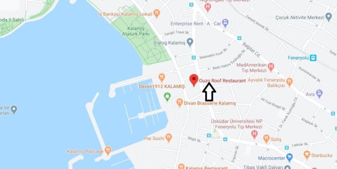 Mehmet Şef Restaurant nerede?