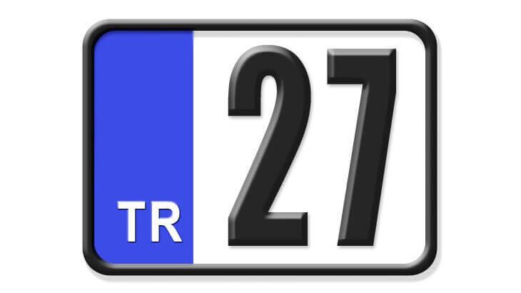 27 Nerenin Plakası