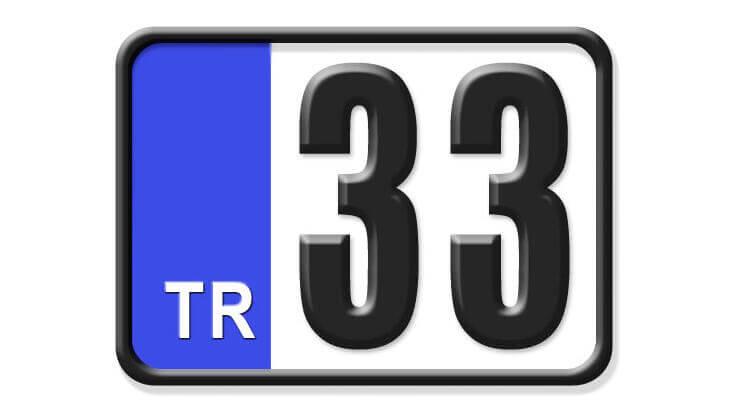 33 Nerenin Plakası