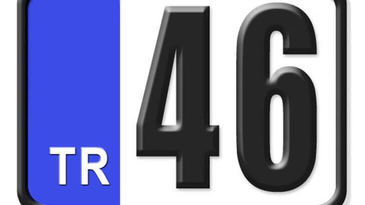 46 Nerenin Plakası