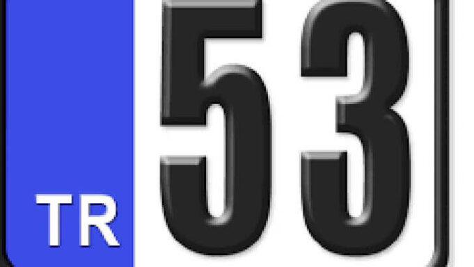 53 Nerenin Plakası