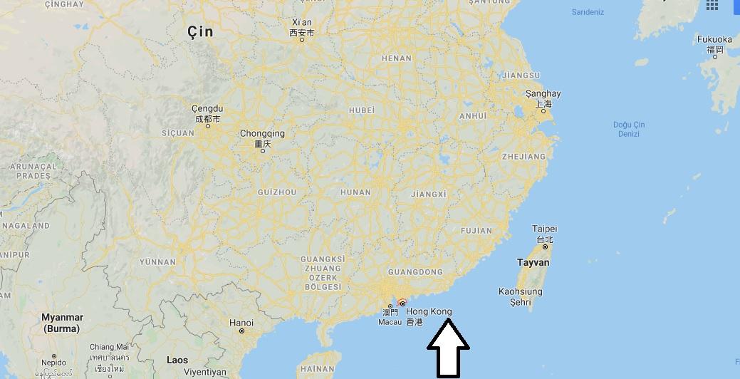 Hong Kong Nerede?