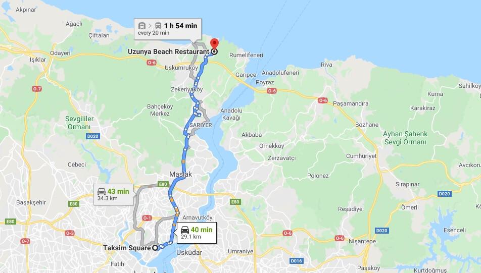 Uzunya beach giriş ücreti 2020