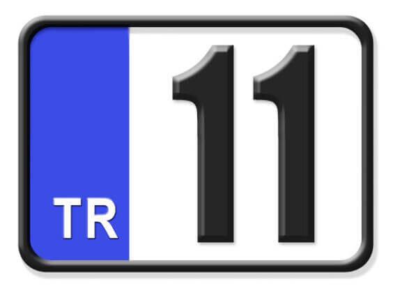 11 Nerenin Plakası