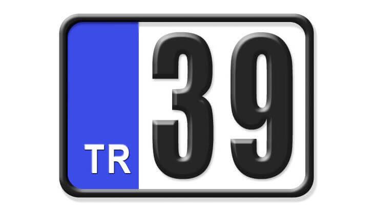 39 Nerenin Plakası