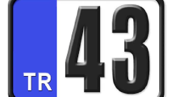 43 Nerenin Plakası