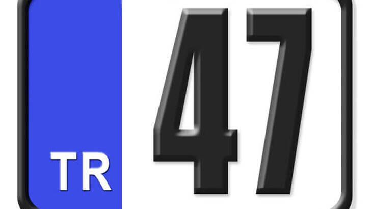 47 Nerenin Plakası