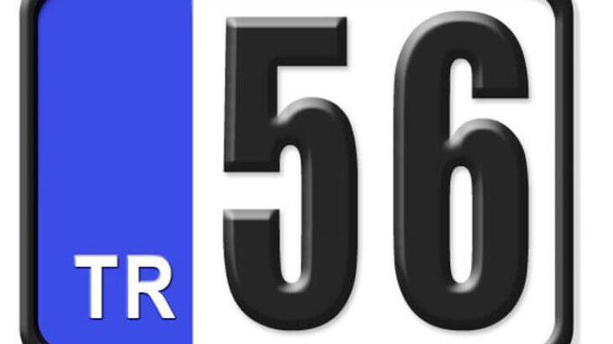 56 Nerenin Plakası