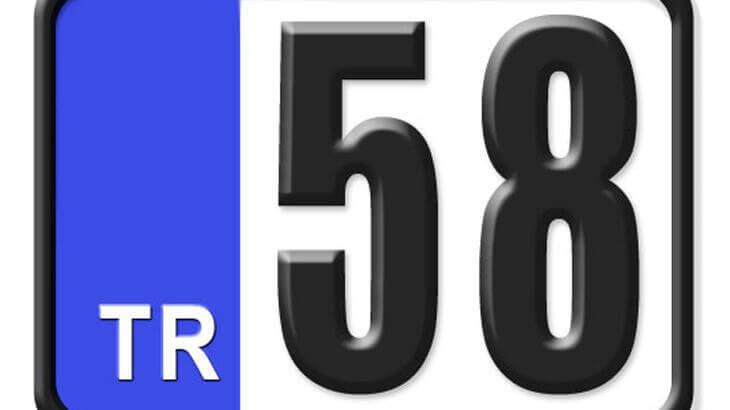 58 Nerenin Plakası