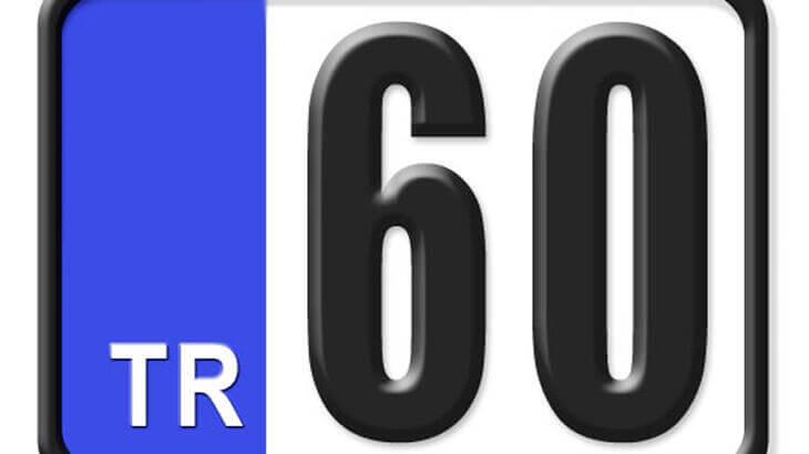 60 Nerenin Plakası