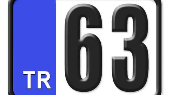 63 Nerenin Plakası