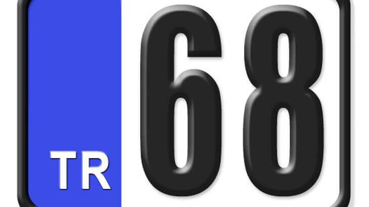 68 Nerenin Plakası