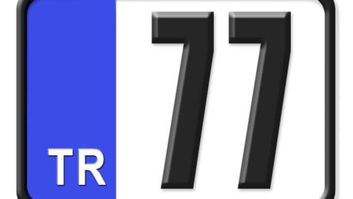 77 Nerenin Plakası