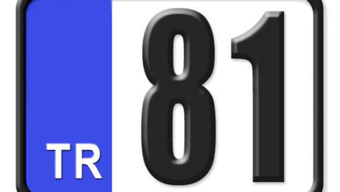 81 Nerenin Plakası