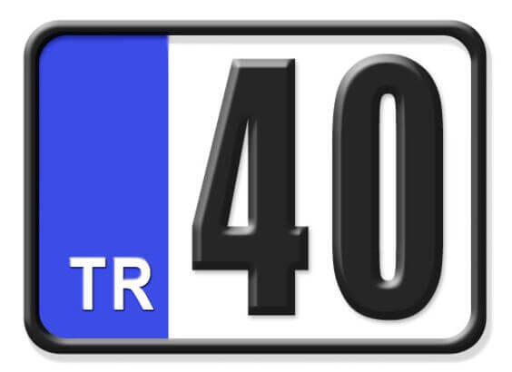 40 Nerenin Plakası, Kırşehir Plakası