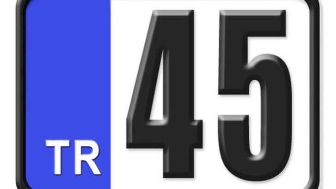 45 Nerenin Plakası, Manisa Plakası