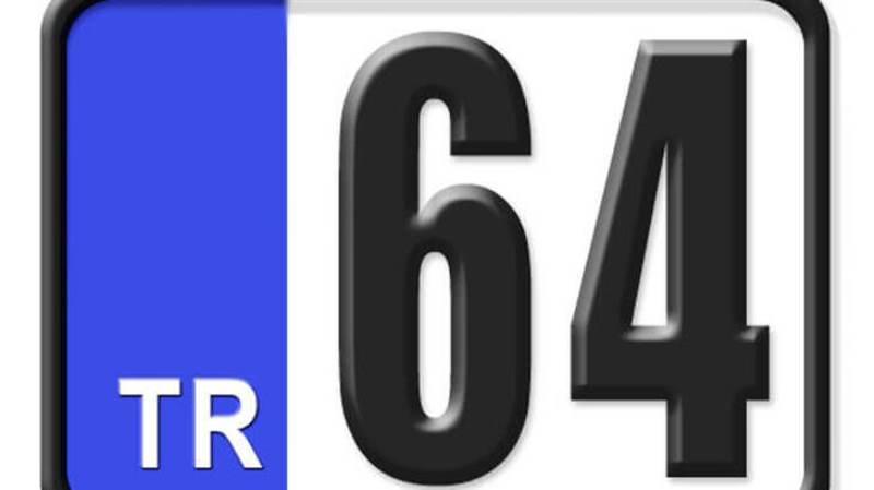 64 Nerenin Plakası, Uşak Plakası