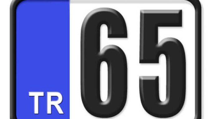 65 Nerenin Plakası, Van Plakası