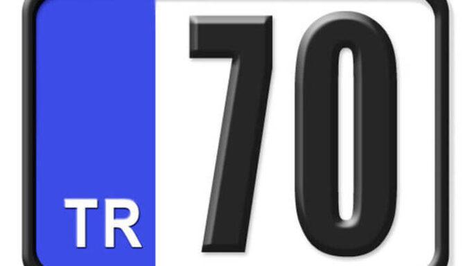 70 Nerenin Plakası, Karaman Plakası