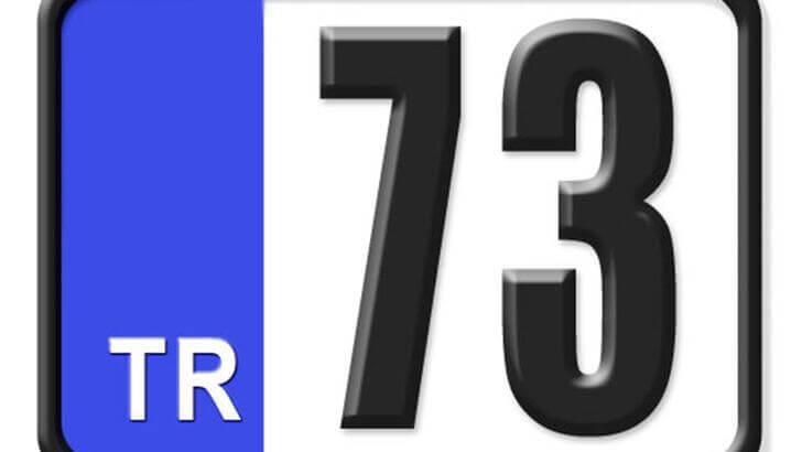 73 Nerenin Plakası, Şırnak Plakası