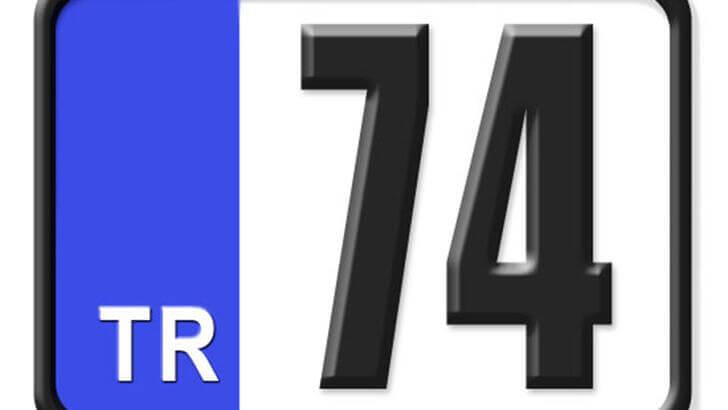 74 Nerenin Plakası, Bartın Plakası