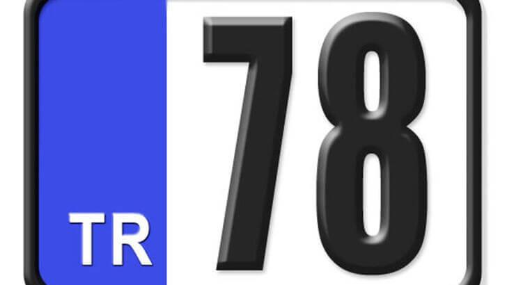 78 Nerenin Plakası, Karabük Plakası